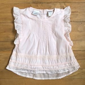 Shabby Chic soft pink top